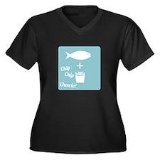 Chip Cheerio Plus Size T-Shirt