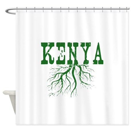 Kenya Roots Shower Curtain