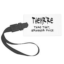 Grammar Police Luggage Tag