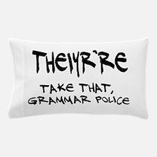 Grammar Police Pillow Case