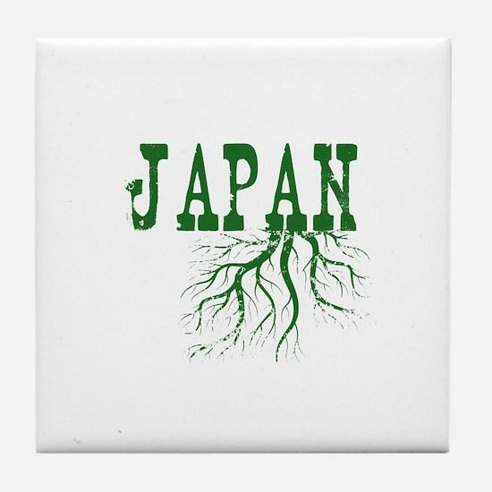 Japan Roots Tile Coaster