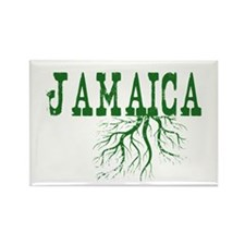 Jamaica Roots Rectangle Magnet