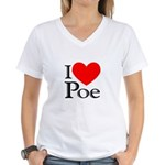 Love Poe Women's V-Neck T-Shirt
