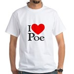 Love Poe White T-Shirt