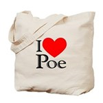 Love Poe Tote Bag