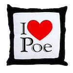 Love Poe Throw Pillow