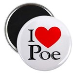 Love Poe Magnet