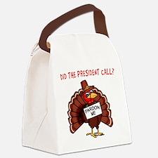 Presidential Pardon Thanksgiving Canvas Lunch Bag