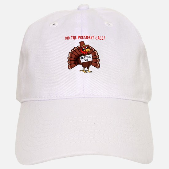 Presidential Pardon Thanksgiving Baseball Baseball Cap