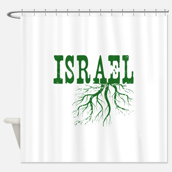 Israel Roots Shower Curtain
