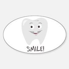 Smile Tooth Decal
