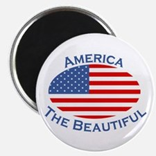 "America The Beautiful! 2.25"" Magnet (100 pack)"