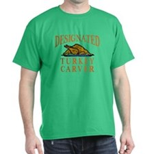 Designated Turkey Carver Thanksgiving T-Shirt