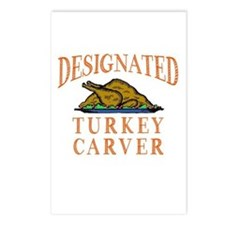 Designated Turkey Carver Postcards (Package of 8)