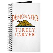 Designated Turkey Carver Thanksgiving Journal