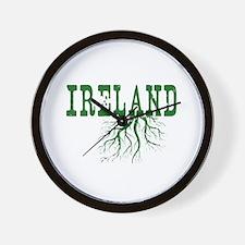 Ireland Roots Wall Clock
