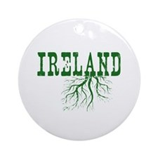 Ireland Roots Ornament (Round)