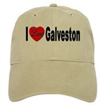 I Love Galveston Cap