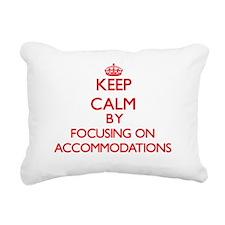Accommodations Rectangular Canvas Pillow