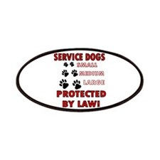 SERVICE DOGS Patches