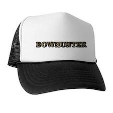 CAMO BOWHUNTER Trucker Hat