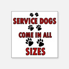 SERVICE DOGS Sticker