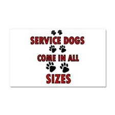 SERVICE DOGS Car Magnet 20 x 12
