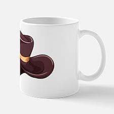 A dark grey hat Mug