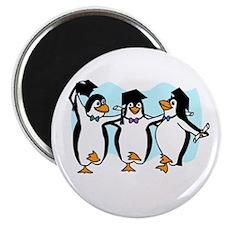Graduation Dancing Penguins Magnets