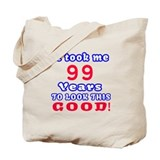 99th birthday Totes & Shopping Bags