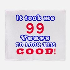 It Took Me 99 Years To Look This Goo Throw Blanket
