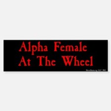 Alpha Female At The Wheel - BMP