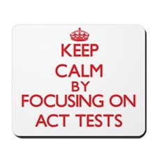Act Tests Mousepad