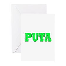 Puta Greeting Cards (Pk of 10)