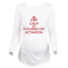 Activation Long Sleeve Maternity T-Shirt