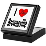 I Love Brownsville Keepsake Box