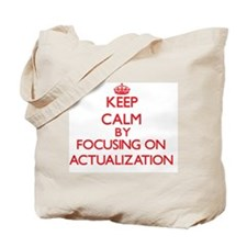 Actualization Tote Bag