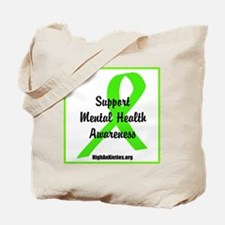 Cute Mental illness Tote Bag
