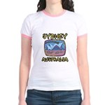 Sydney Australia Jr. Ringer T-Shirt
