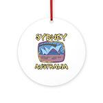 Sydney Australia Ornament (Round)
