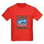 Sydney Australia Kids Dark T-Shirt