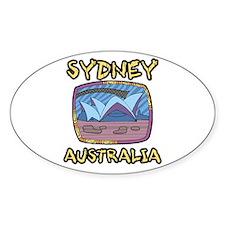 Sydney Australia Oval Decal