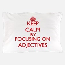 Adjectives Pillow Case
