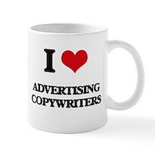I love Advertising Copywriters Mugs