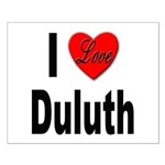 I Love Duluth Small Poster