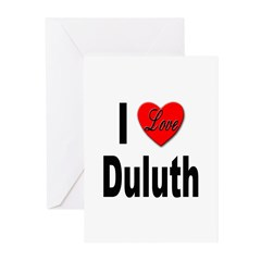 I Love Duluth Greeting Cards (Pk of 10)