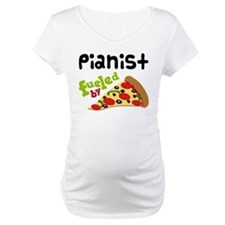 Pianist Fueled By Pizza Shirt