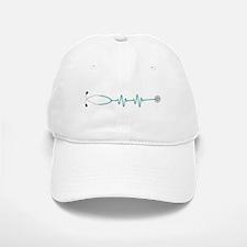 Stethescope Heart Rate Monitor Baseball Baseball Baseball Cap