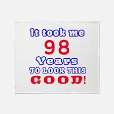 It Took Me 98 Years To Look This Goo Throw Blanket