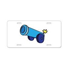 Cannon Aluminum License Plate
